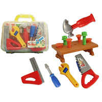 PRETEND & IMAGINATIVE Play Toy TOOL BOX TOOL SET in Carry Case