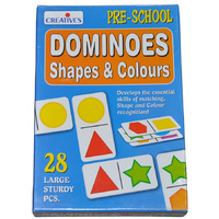 DOMINOES SHAPES and COLOURS Educational PRESCHOOL Game