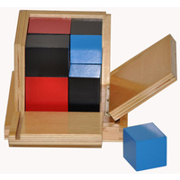 MONTESSORI BINOMIAL Cube - SCHOOL & HOMESCHOOL Mathematics