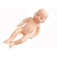 "ANATOMICALLY Correct NEWBORN Baby DOLL Girl ""White"" - Pretend and Imaginative PLAY"