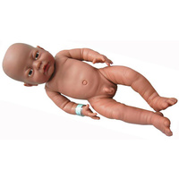 "ANATOMICALLY Correct NEWBORN Baby ETHNIC DOLL Boy ""Black"" - Pretend and Imaginative PLAY"