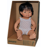 ANATOMICALLY Correct Baby ETHNIC DOLL Boy ASIAN - Pretend and Imaginative PLAY