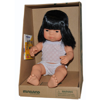 ANATOMICALLY Correct Baby ETHNIC DOLL Girl ASIAN - Pretend and Imaginative PLAY