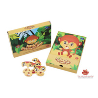 MONKEY EXPRESSIONS LEARN EMOTIONS Educational Magnetic GAME