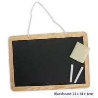 Wooden BLACKBOARD with CHALK & ERASER Educational TOY