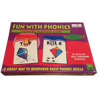 FUN with PHONICS - Vowels Match ups EDUCATIONAL Puzzle GAME