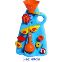 KIDS BEACH or BATH TOY SAND & WATER MILL with SCOOP Toy