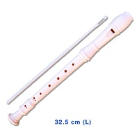 8-hole Classic MUSICAL Music Instrument Kids Toy Beginner RECORDER 32.5 cm