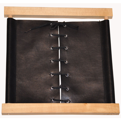 MONTESSORI Practical Life Faux Leather LACING DRESSING FRAME - Care of the Person