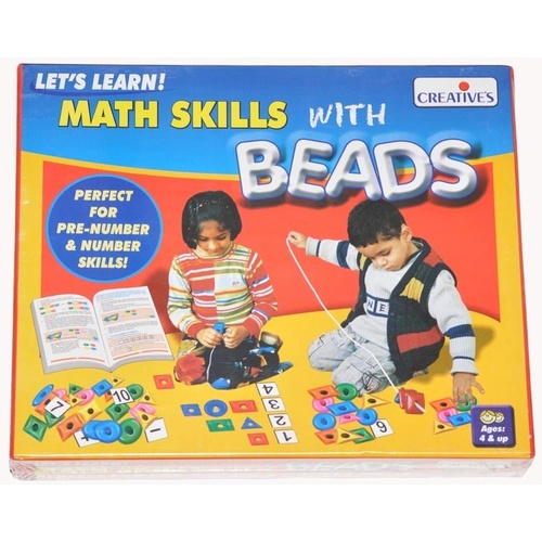 MATHS SKILLS WITH BEADS - Educational PRESCHOOL Game for EARLY NUMERACY